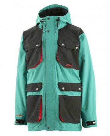 AIRBLASTER JACKET AB/BC TEAL LIMITED COLOR - LM BOARD STORE