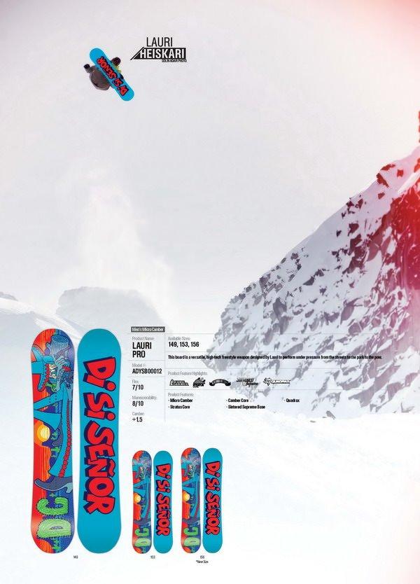 DC SNOWBOARD PRO MODEL LAURI - LM SNOWBOARD STORE