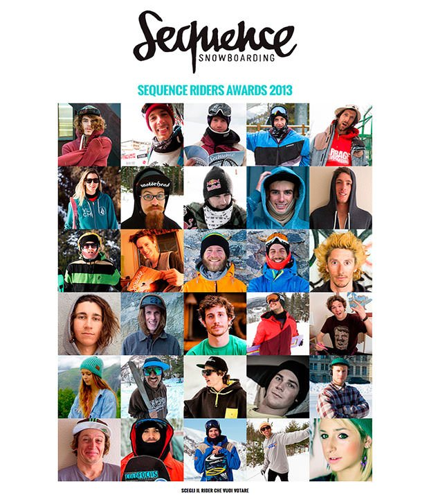 SEQUENCE RIDERS AWARDS LM SNOWBOARD STORE