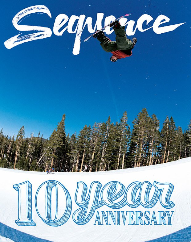 COVER RIVISTA SEQUENCE 43 SNOWBOARDING - LM SNOWBOARD STORE