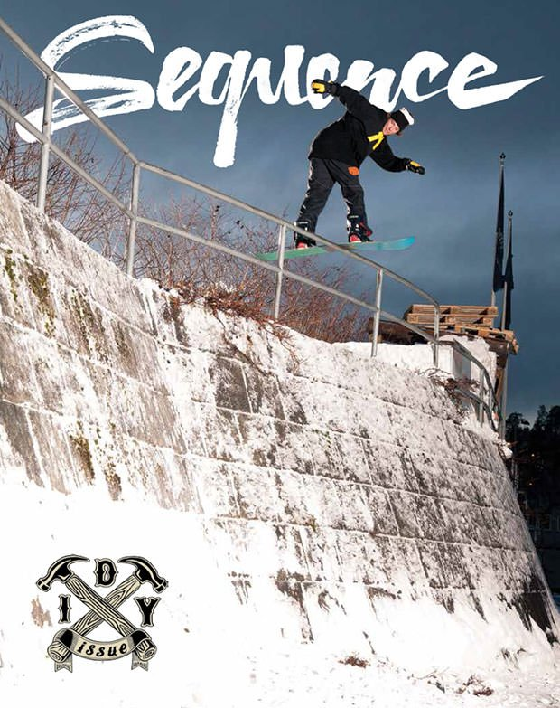 SEQUENCE SNOWBOARDING RIVISTA - LM SNOWBOARD STORE
