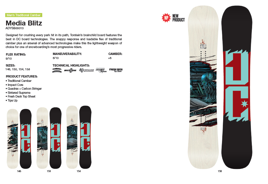 DC SHOES SNOWBOARD MEDIA BLITZ - LM BOARD STORE