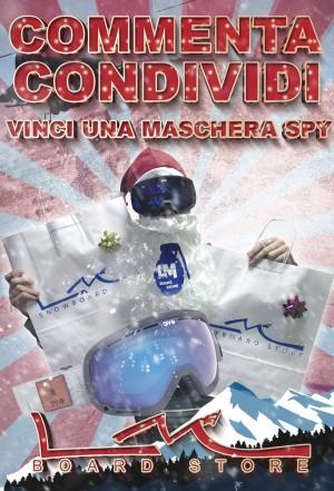 PROMOZIONE VINCI UNA MASCHERA SPY - LM BOARD STORE