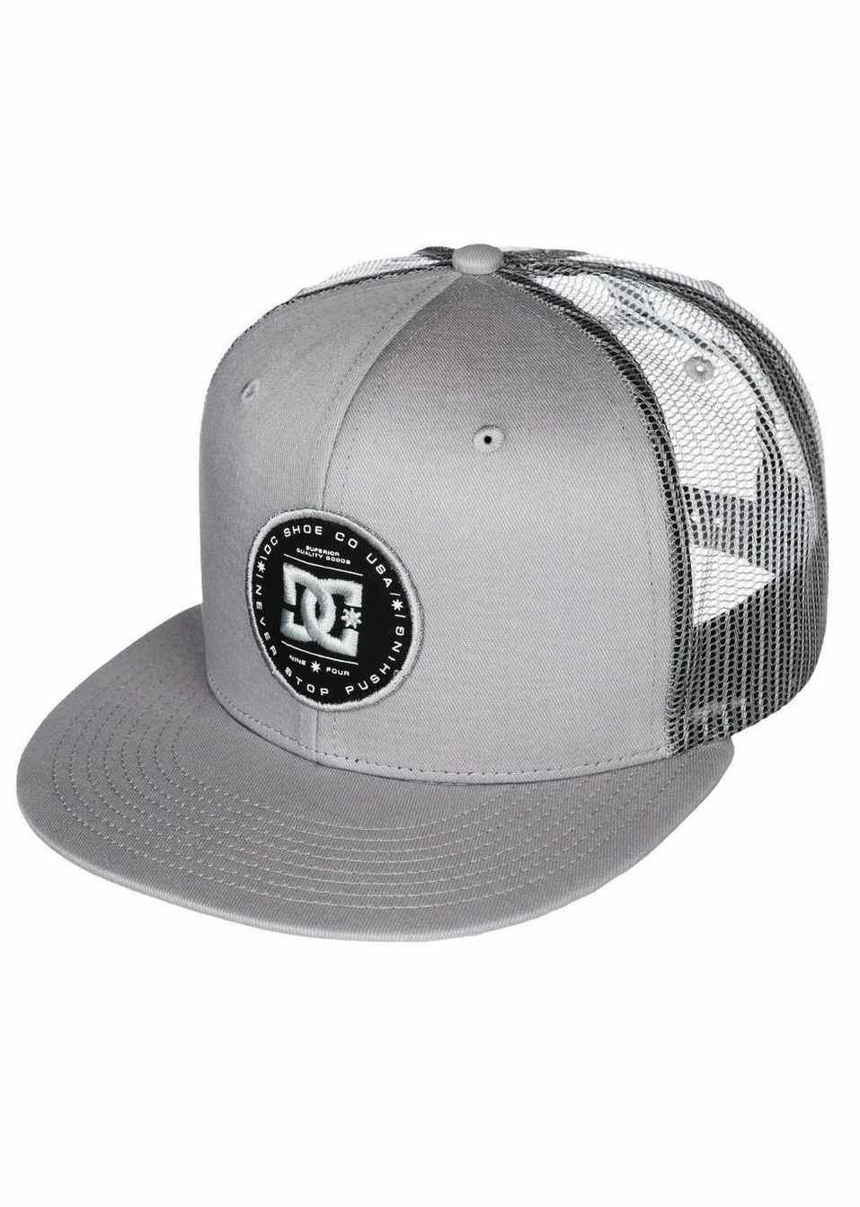 DC SHOES CAP DAXBREAD GREY - LM BOARD STORE