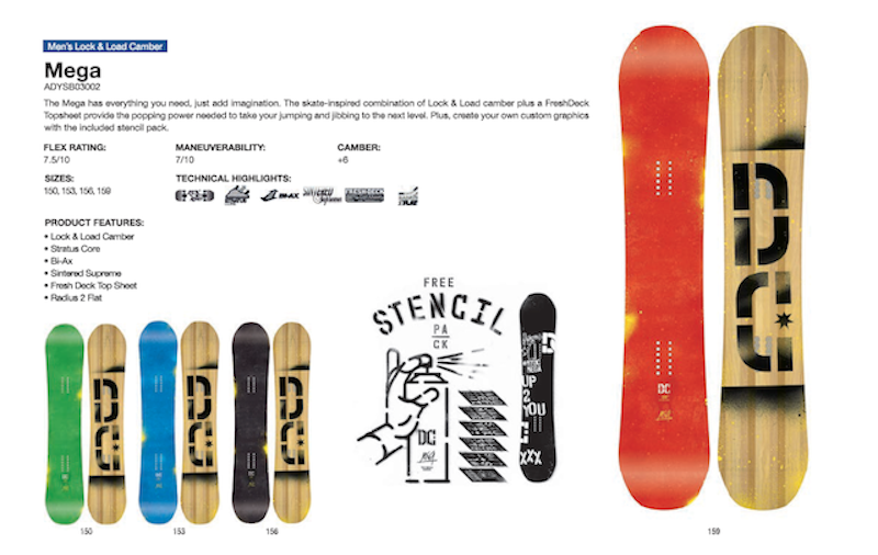 DC SHOES SNOWBOARD MEGA - LM BOARD STORE