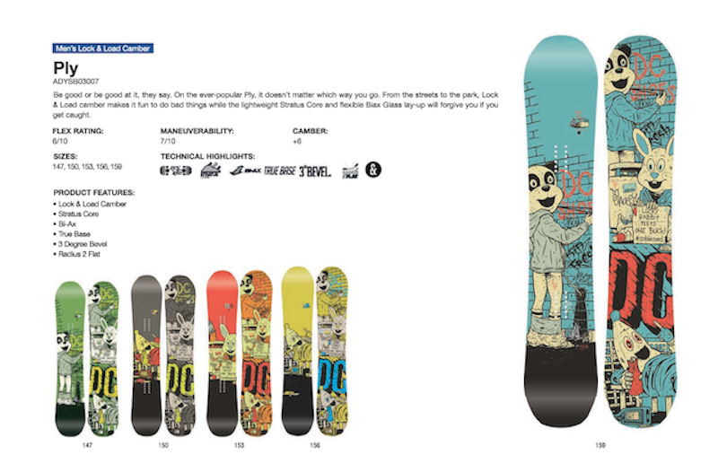 DC SHOES SNOWBOARD PLY - LM BOARD STORE