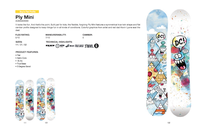 DC SHOES SNOWBOARD PLY MINI - LM BOARD STORE