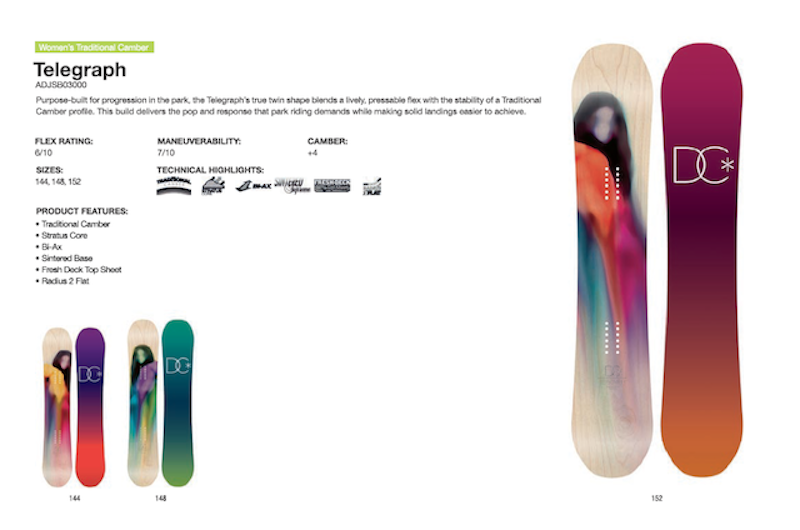 DC SHOES SNOWBOARD TELEGRAPH - LM BOARD STORE