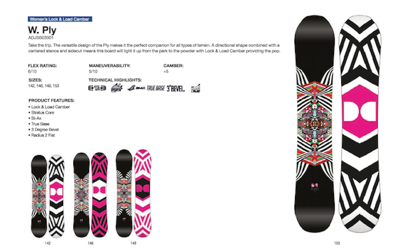 DC SHOES SNOWBOARD WOMAN PLY - LM BOARD STORE