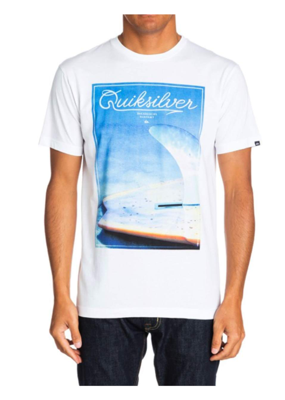 QUIKSILVER TSHIRT CLASSIC FINBOX - LM BOARD STORE