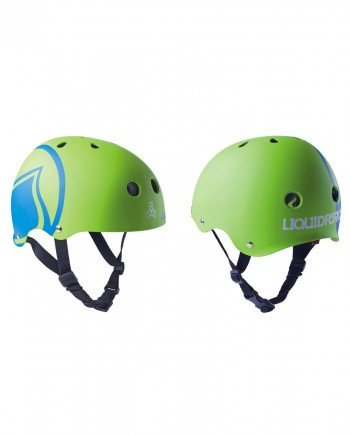 LIQUID FORCE HELMET ICON GREEN - LM BOARD STORE