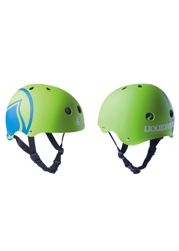 LIQUID FORCE HELMET ICON GREEN – LM BOARD STORE