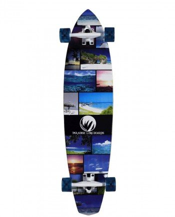 PARADISE LONGBOARD ISLAND LIFE KICKTAIL- LM BOARD STORE