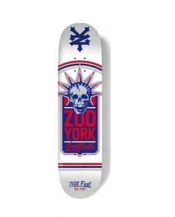 ZOO YORK SKATE LIBERTY WHITE - LM BOARD STORE
