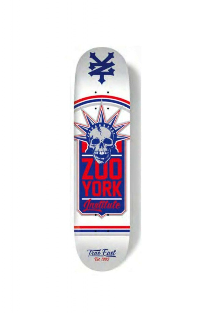 ZOO YORK SKATE LIBERTY WHITE – LM BOARD STORE