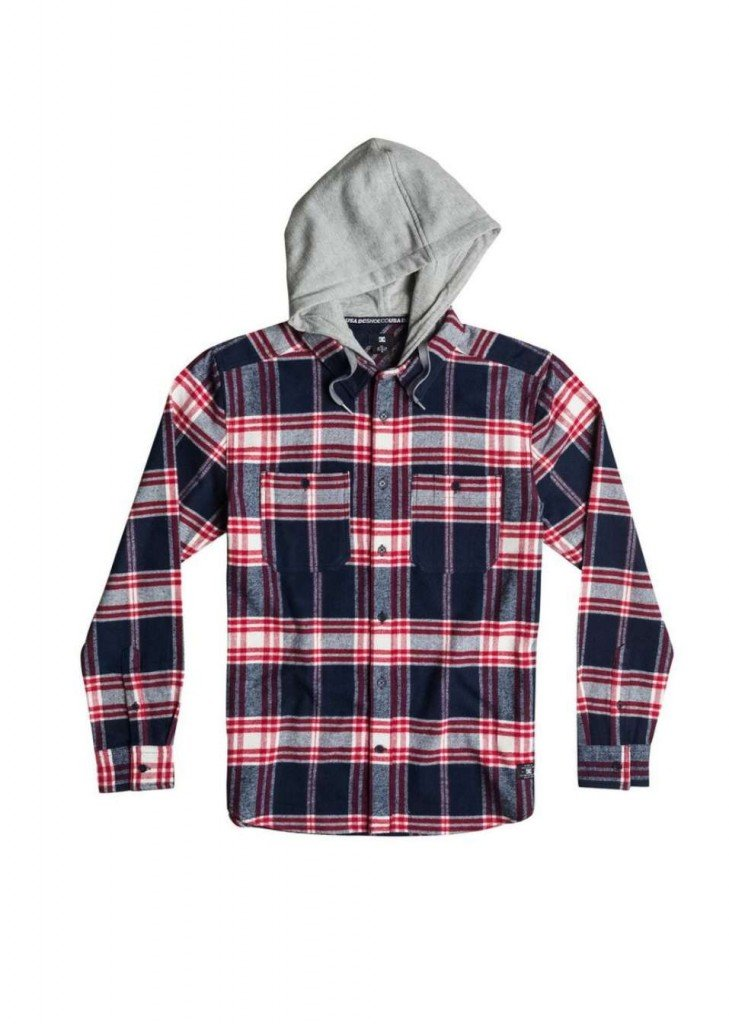 DC SHOES SHIRT HOOD UP – LM BOARD STORE