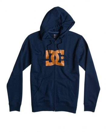 DC SHOES SWEAT STAR ZIP BTL0 - LM BOARD STORE