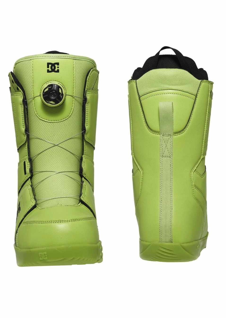 DC SHOES BOOTS SNOWBOARD SCOUT LIME - LM BOARD STORE