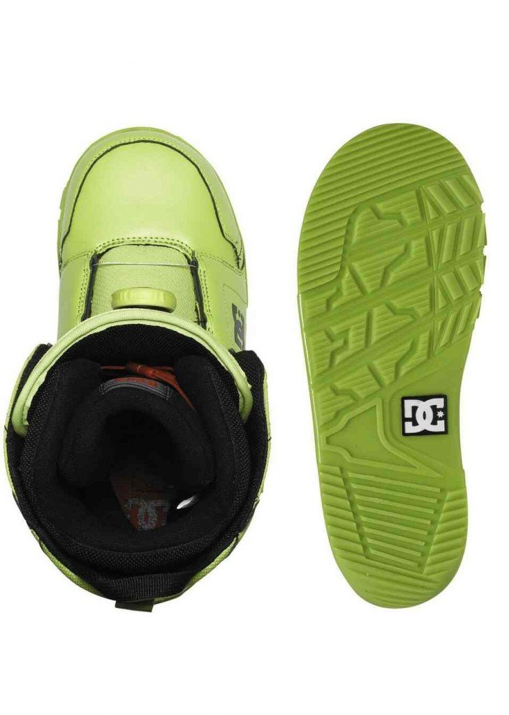 DC SHOES BOOTS SNOWBOARD SCOUT LIME – LM BOARD STORE