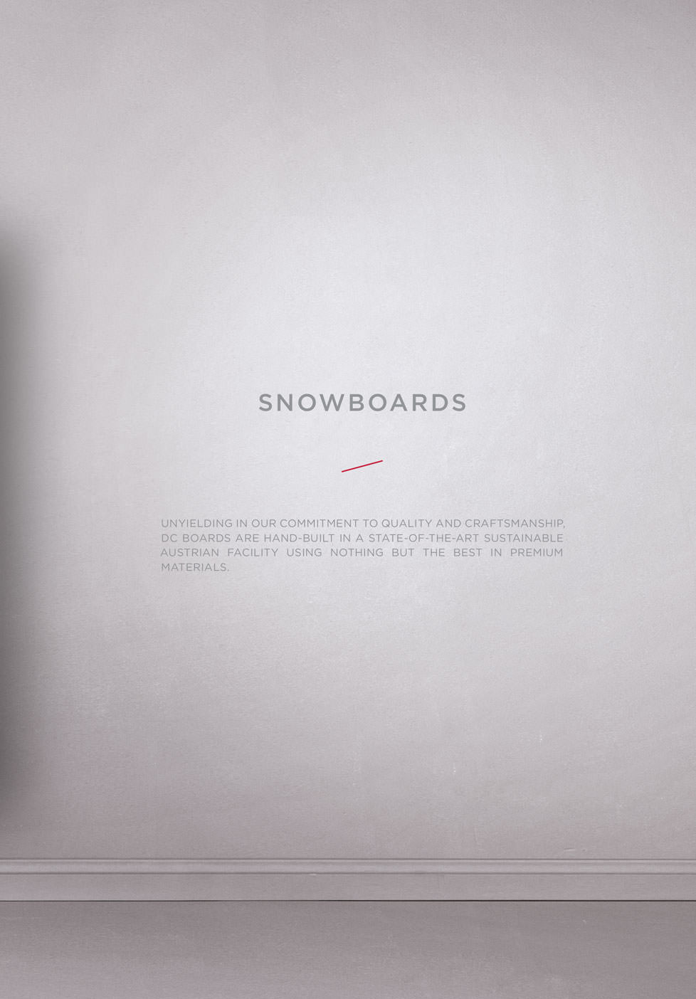 DC SNOWBOARDING 2018