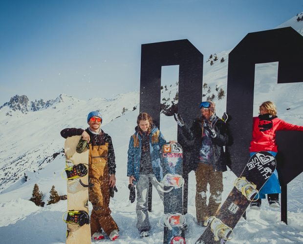 DC SHOES MERIBEL SNOWPARK