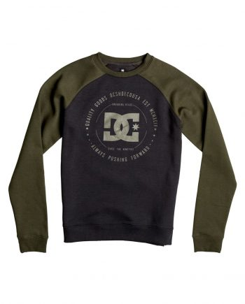 DC SHOES SWEAT REBUILT CREW KVJ0 - LM BOARD STORE