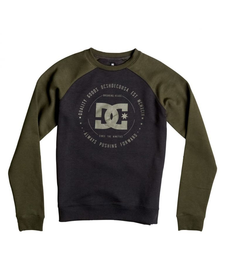 DC SHOES SWEAT REBUILT CREW KVJ0 – LM BOARD STORE