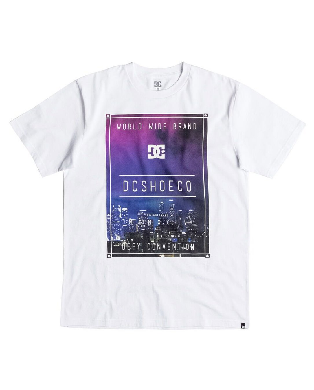 DC SHOES TSHIRT CITY BOX WBB0
