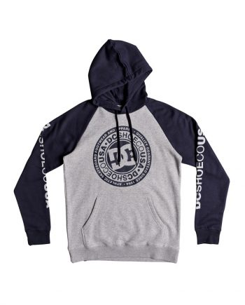 DC SHOES SWEAT CIRCLE STAR RAGLAN XBBS