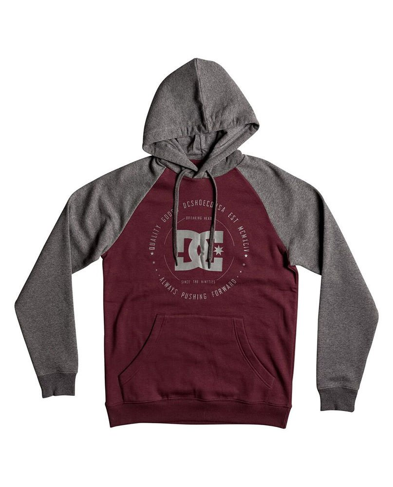 DC SHOES SWEAT REBUILT RAGLAN - LM BOARD STORE