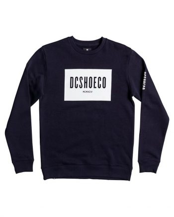 DC SHOES SWEAT SQUARESIDE CREW - LM BOARD STORE