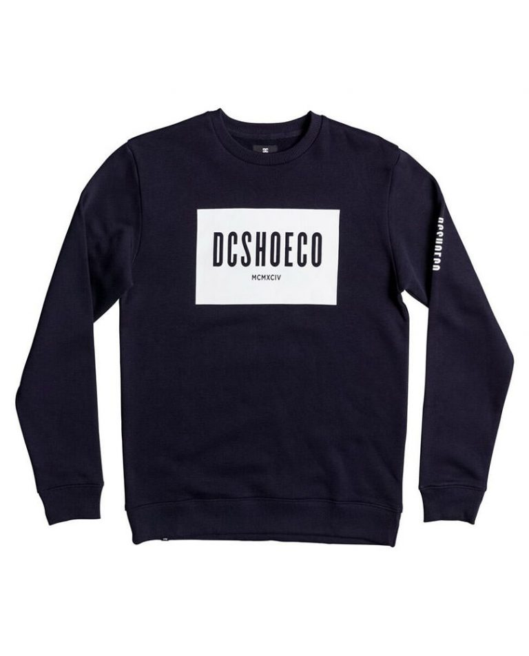 DC SHOES SWEAT SQUARESIDE CREW – LM BOARD STORE