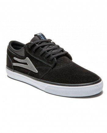 LAKAI SHOES GRIFFIN BLACK 2016 - LM BOARD STORE