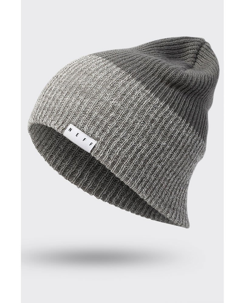 NEFF BEANIE DUO GREY - LM BOARD STORE