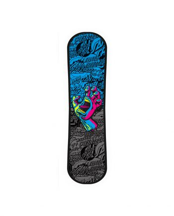 SANTA CRUZ SNOWSKATE SCREAMING HAND